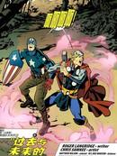 美国队长&托尔:了不起的复仇者战士漫画
